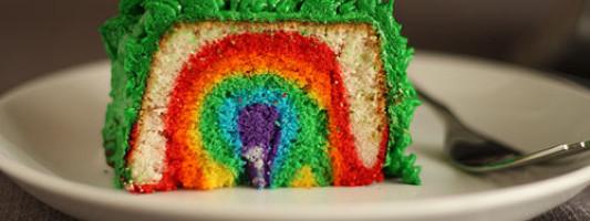 Yum Alert: Pride Week Cake