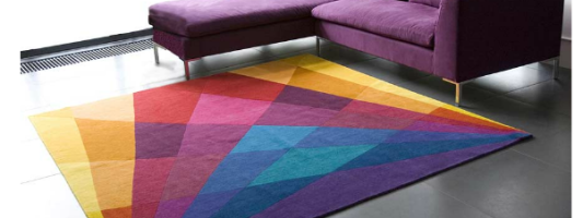 Decor Spotting: Beautifully Geometric Rugs