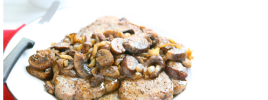 Yum Alert: Steak with Mushroom Tequila Sauce
