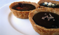 Yum Alert: Bittersweet Chocolate Tartlets