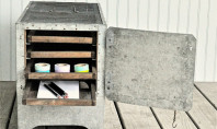 Etsy Spotting: Industrial Chic Farm Cabinet