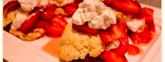 Yum Alert: Strawberry & Nutella Shortcake Stack