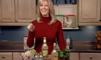 Sandra Lee Grabs Her Boobs and Curses… just like me.
