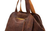 Purse Spotting: Amalia Large Leather Duffel