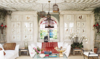 Decor Spotting: Ceilings High & Low