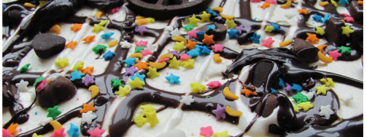 Yum Alert: Ice Cream Pizza!