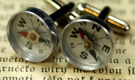 Etsy Spotting: Compass Cufflinks