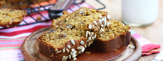 Yum Alert: Nutty Seedy Pumpkin Bread
