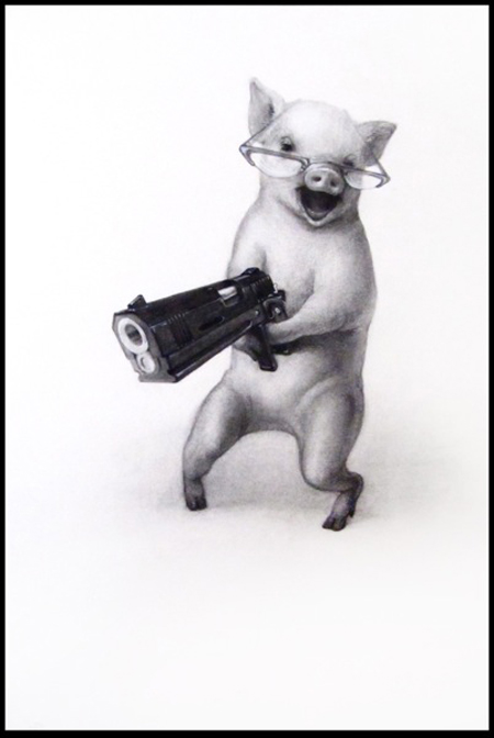 Amper bae funny animals with guns - Pictures of funny animals with guns ...