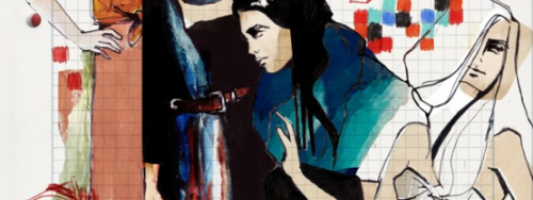 Art Spotting: Elizabeth Bukanova's Fashion Drawings That Aren't Fashion