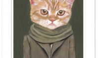 Art Spotting: Kitties in Clothing