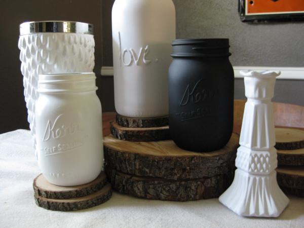 Diy Spotting Upcycled Mason Jars The Luxury Spot