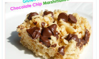 Yum Alert: Gluten Free, Dairy Free Chocolate Chip Marshmallow Treats