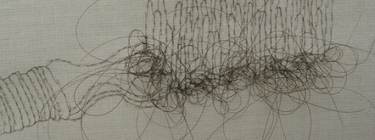 WTF Spotting: Artsy Drawings… Made Out Of Hair
