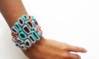 Etsy Spotting: Crochet Organic Bracelet