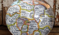 Etsy Spotting: Vintage Map Paperweight