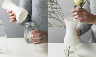 Decor Spotting: Lacey DIY Vase Cover