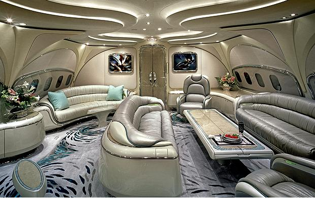 Travel Spotting 5 Uber Luxurious Private Jets