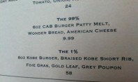 A $58 burger for the 1%… but honestly it sounds delish.