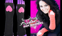 Giveaway Spotting: Text-Friendly Arm Warmers