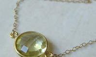 Etsy Spotting: Sunshine In A Necklace