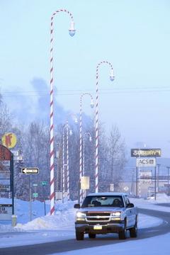 Travel Spotting Santa Claus House In North Pole Alaska