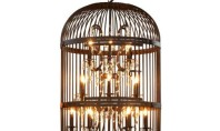 Design Spotting: Vintage Bird Cage Chandelier