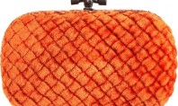 Purse Spotting: The Knot Intrecciato Pitone Clutch by Bottega Venetta