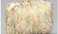 Purse Spotting: Morley Snake-Embossed Clutch By Kotur
