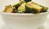 Yum Alert: Crispy Lemon Parmesan Brussels Sprouts