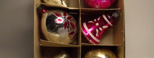 Vintage Spotting: Christmas Ornaments