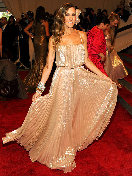 Vintage spotting new year 39 s eve party edition the for Sarah jessica parker wedding dress