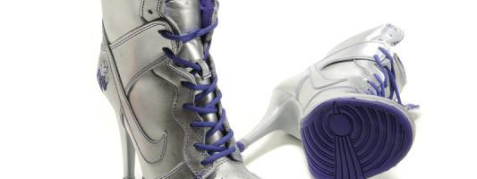 WTF Spotting: Nike Dunk High Heels