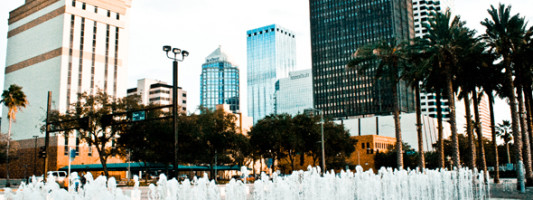 Travel Spotting: Downtown Tampa Waterfront Park