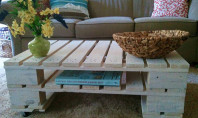 Decor Spotting: Eco-friendly Repurposed Wooden Pallets
