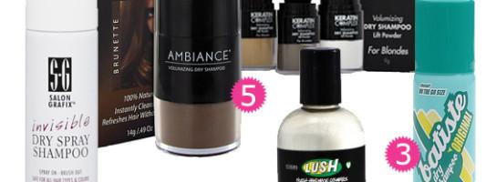 Beauty Spotting: Dry Shampoo is Your Best Friend
