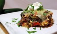 Yum Alert: Roasted Vegetable Enchilada Casserole
