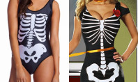 """This Swimsuit Looks A Lot Like The """"Anna Rexia"""" Costume"""