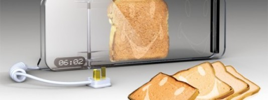 Tech Spotting: Make Your Toast Smile In The Morning