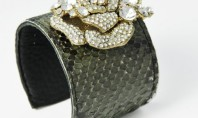 Etsy Spotting: Snakeskin Leather Cuffs