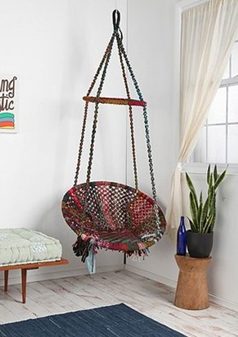Decor Spotting: Indoor Hammocks | The Luxury Spot