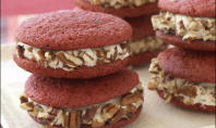 Yum Alert: Red Velvet Sandwich Cookies Recipe