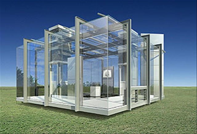 Glass Houses Are Kind Of Creepy