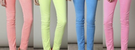 Neon Jeans Have Us Going Wild