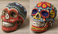 Decor Spotting: Southwestern Beaded Skulls
