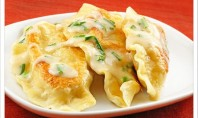 Yum Alert: Potato and Cheese Pierogi