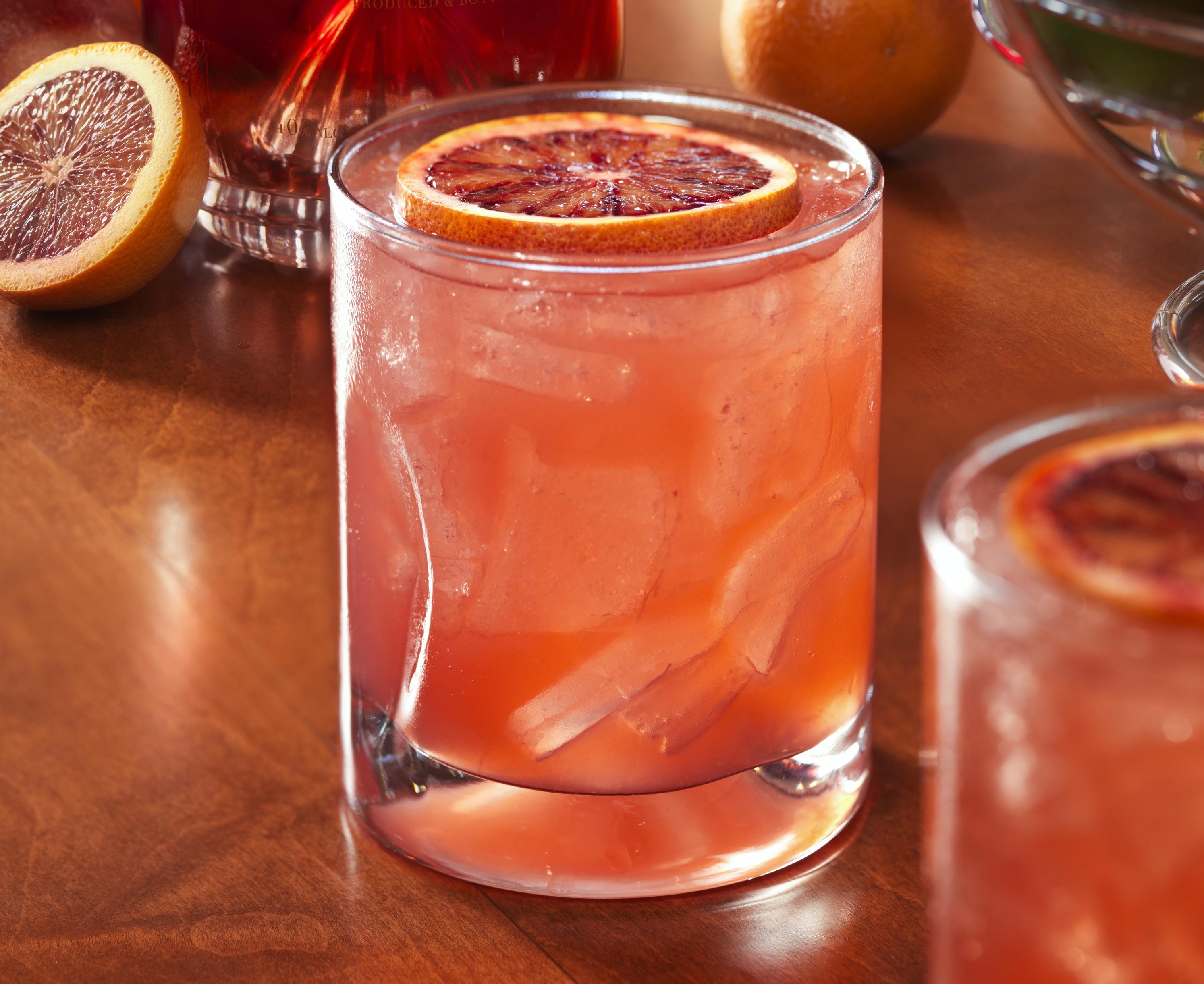 ... Recipes SHINFO Yum Alert: Blood Orange Fizz Cocktail - The Luxury Spot