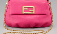Purse Spotting: Fendista Leather Mini Pouch by Fendi