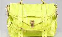Fashion Crave: Proenza Schouler's Neon Handbag