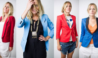 Style Spotting: Color Blocked Blazers Rock